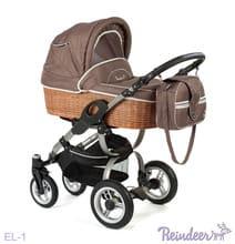 Коляска для новорожденных Reindeer City Eco-Line