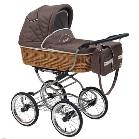 Коляска для новорожденных Reindeer Wiklina Eco-Line
