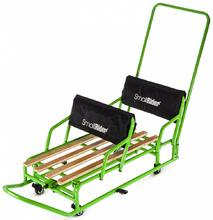 Санки-трансформкр для двойни с колесиками Small Rider Snow Twins 2