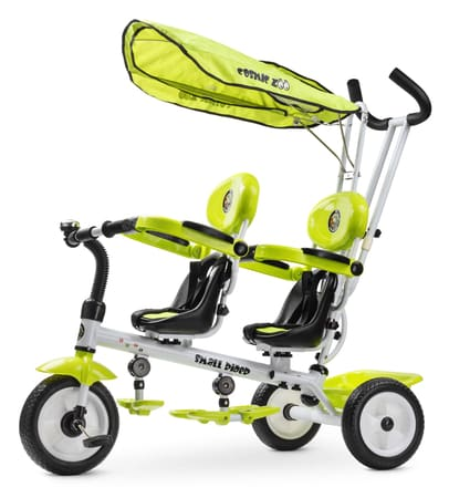 Велосипед для двойни Cosmic Zoo Twins
